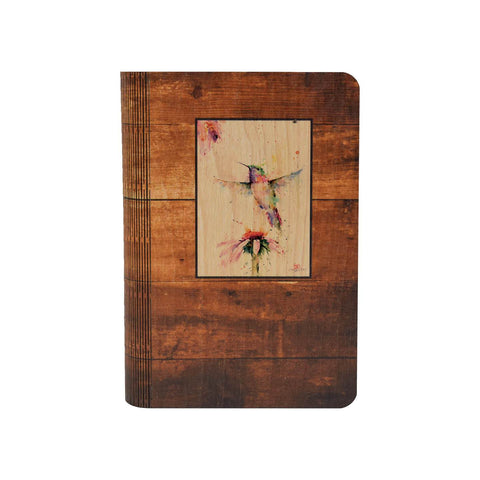 Pee Wee Hummingbird - One Peace Wood Journal