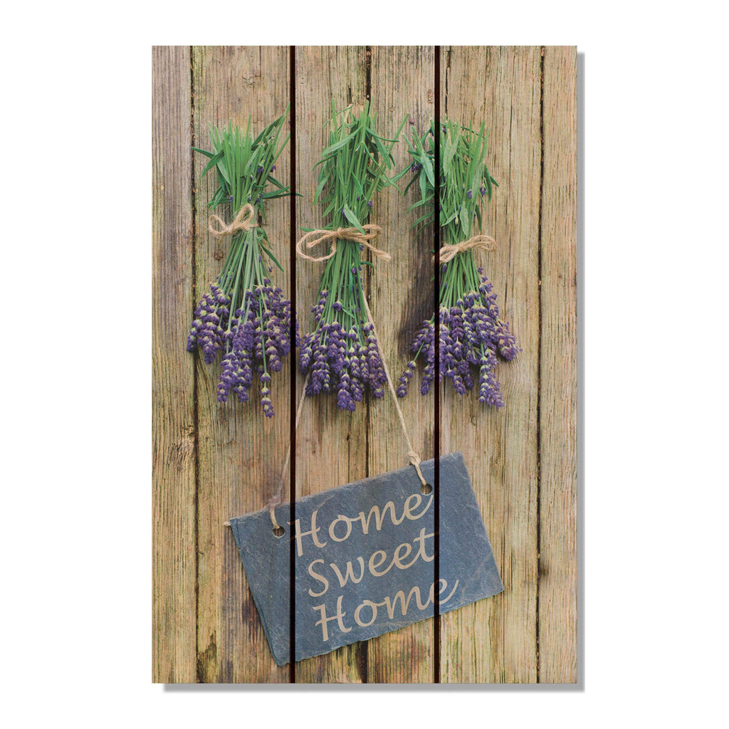Sweet Home - Welcome Sign Wood Wall Art DaydreamHQ FenceEscape 16x24