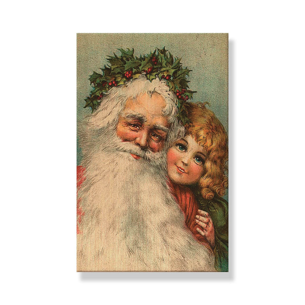Santa's Girl - Mailable Wood Postcard - Single Image Multi Pack DaydreamHQ