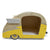 Retro Shasta Trailer - Pet Bed - Lemon Yellow DaydreamHQ Gift Lemon Yellow