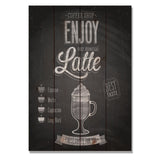 Enjoy Latte - Wile E. Wood Art™