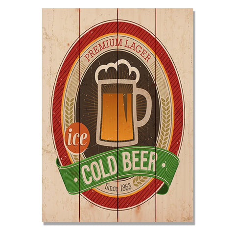 Cold Beer - Wile E. Wood Art™