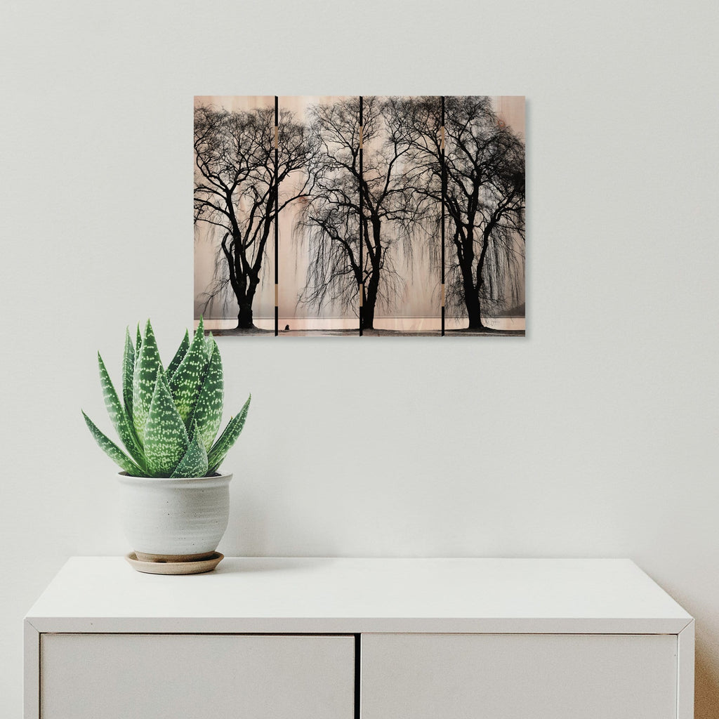 Winter Trees - Photography on Wood DaydreamHQ Photography on Wood 22x16