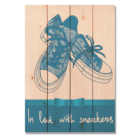 In Love With Sneakers - Wile E. Wood Art™