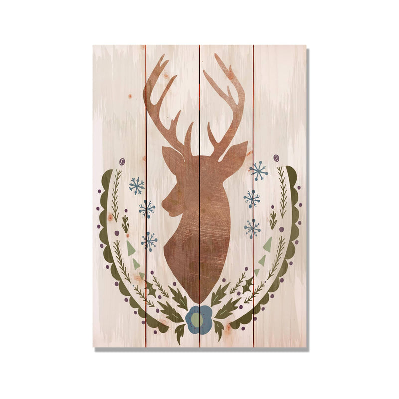 Stagg Christmas Holiday Reindeer Wood Pallet Wall Hanging / Christmas Wood Art / Holiday Home Decor (FBSC) DaydreamHQ