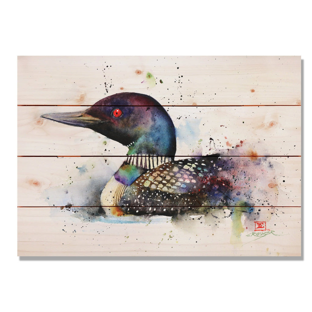 Colorful Duck by Dean Crouser - Wood Wall Art DaydreamHQ 20x14