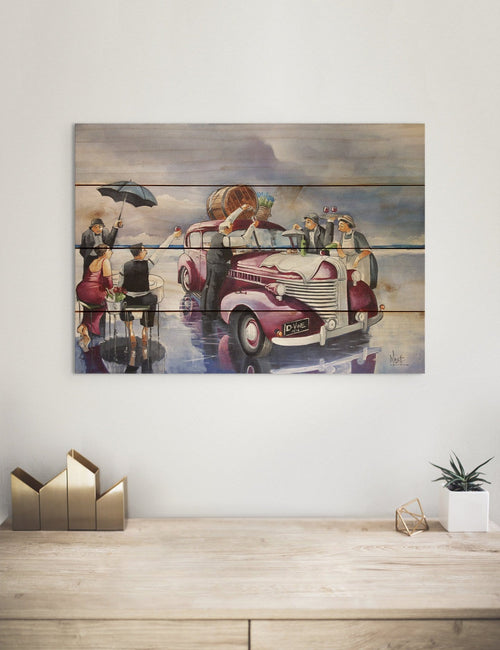 Wine Topper by Ronald West - Kitchen Wood Wall Art DaydreamHQ