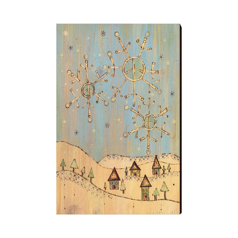 Burgess' Holiday Set 2 - Mailable Wood Postcards - 5 pack