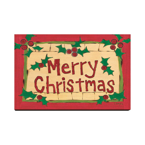 Burgess' Holiday Set 3 - Mailable Wood Postcards - 5 pack