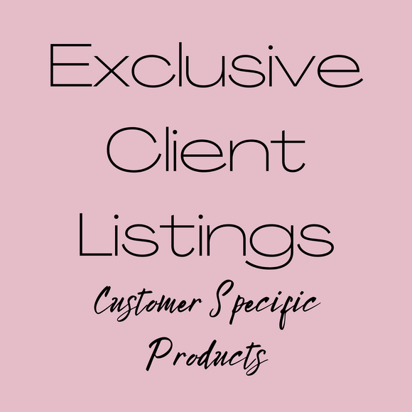 Exclusive Client Listings