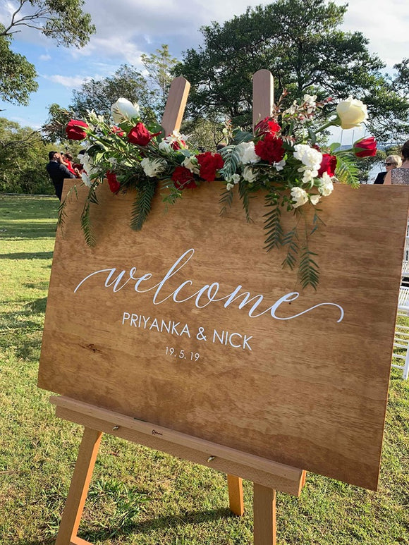Wedding Signage decals