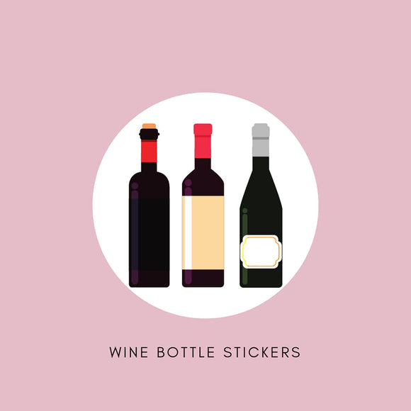 Wine & Spirit Bottle Stickers