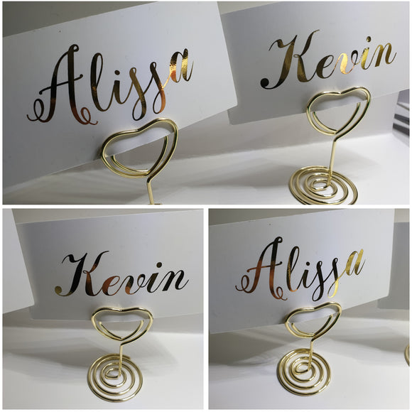 Placecards - Foiled