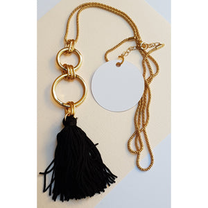 Necklace Tag - Round