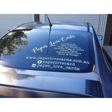 Car & Business Signage - Vinyl