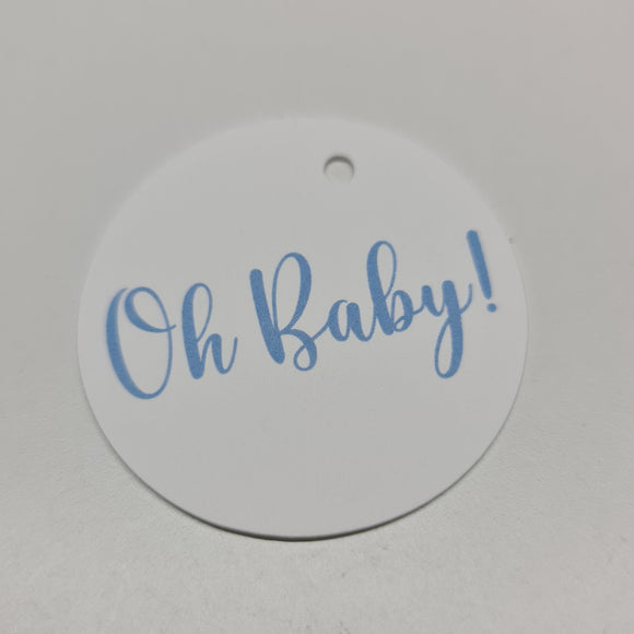 Baby Shower Tag - Oh Baby!