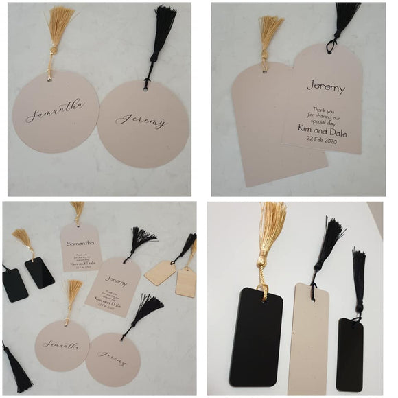 Placecards - Wedding & Special Events