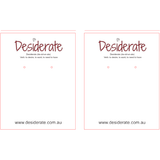 Exclusive Listing - Desiderate only