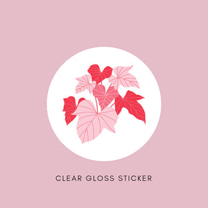Sticker - Clear Gloss - All Sizes