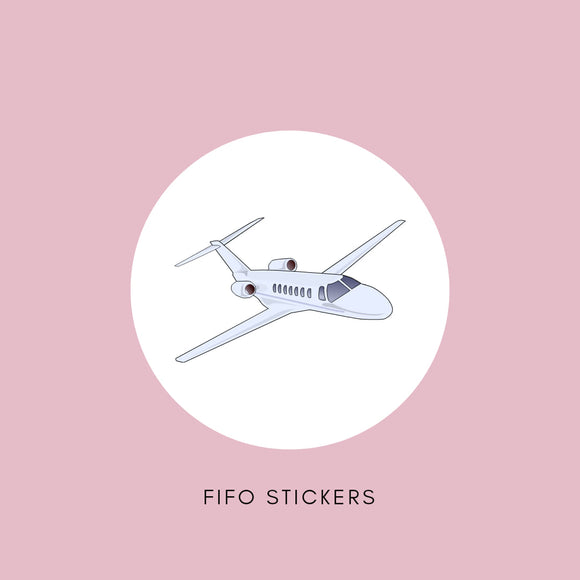 FIFO Planner Stickers