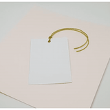 Rectangle swing tag with hanging hole