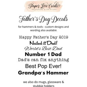 Father's Day Decals