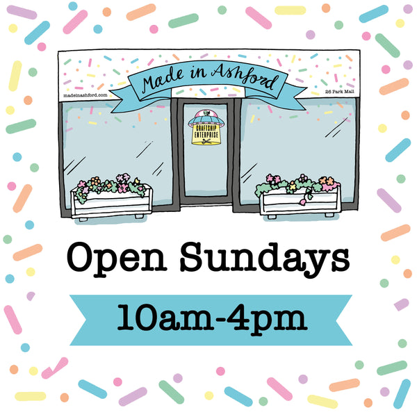 Now open on Sundays!
