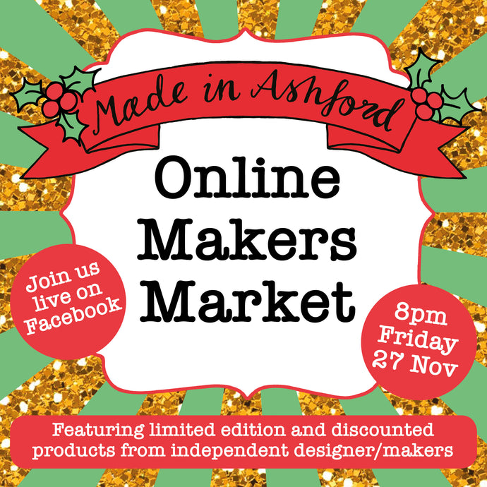 Online Makers MArket 27th Nov