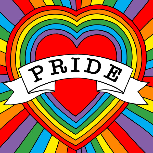 Celebrate Pride and download our free colouring in sheet