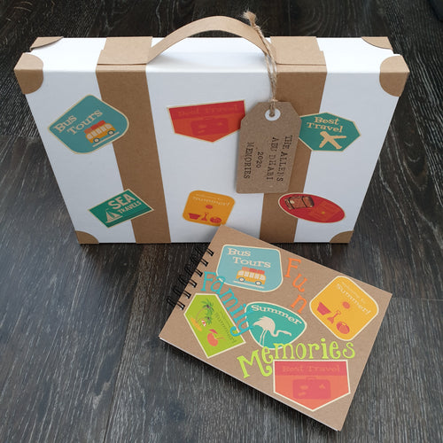 Family Holiday Memory Box Workshop Weds 19th February 2.30 - 4.30pm