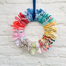 Load image into Gallery viewer, Fabric Wreath Workshop Mon 6th April 2.45 - 4.15pm