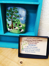 Load image into Gallery viewer, Felted Luxury Goats Milk Soap with grazing sheep