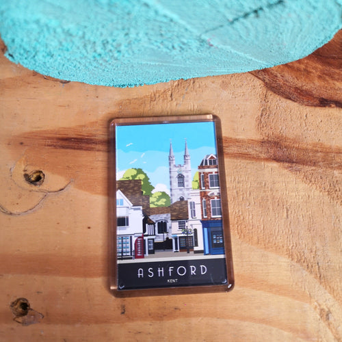 Ashford Fridge Magnet