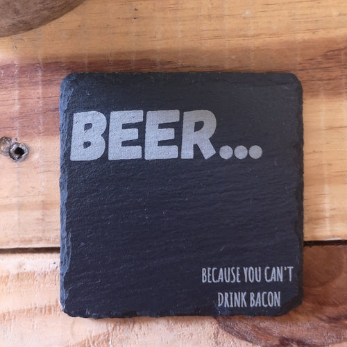 beer humorous drinks coaster