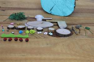 lady bird fairy garden kit