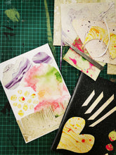 Load image into Gallery viewer, Paper Marbling Sketchbooks and Cards Sat 28th March 10.30am - 1pm