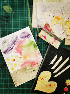 Paper Marbling Sketchbooks and Cards Sat 28th March 10.30am - 1pm