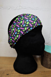 Black retro snood