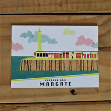 Load image into Gallery viewer, Margate Harbour Arm postcard