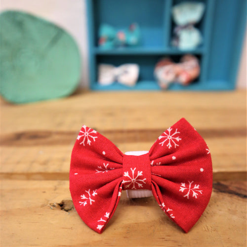 Dog collar bows - small