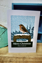 Load image into Gallery viewer, Ashford robin Christmas card