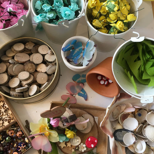 Easter Fairy Garden Workshop 2nd April 2.30pm