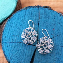 Load image into Gallery viewer, wire crochet earrings