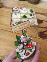 "Load image into Gallery viewer, ""Fairies Live Here"" Fairy garden kit"