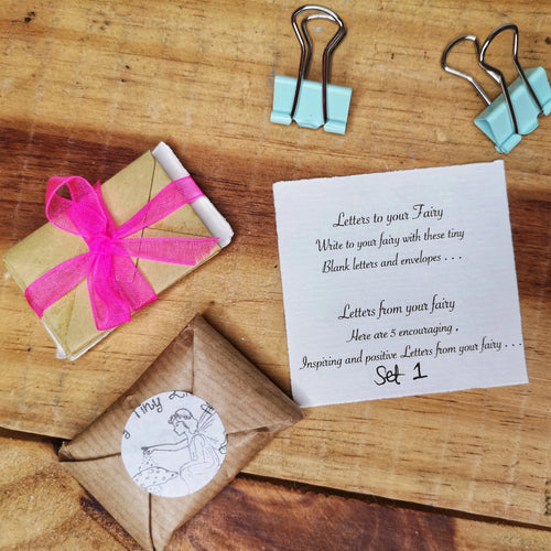 Fairy letter writing gift set by My Tiny Little Studio