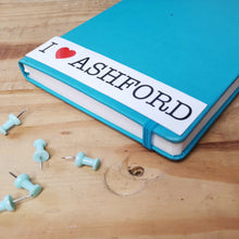 Load image into Gallery viewer, I love Ashford sticker rectangle