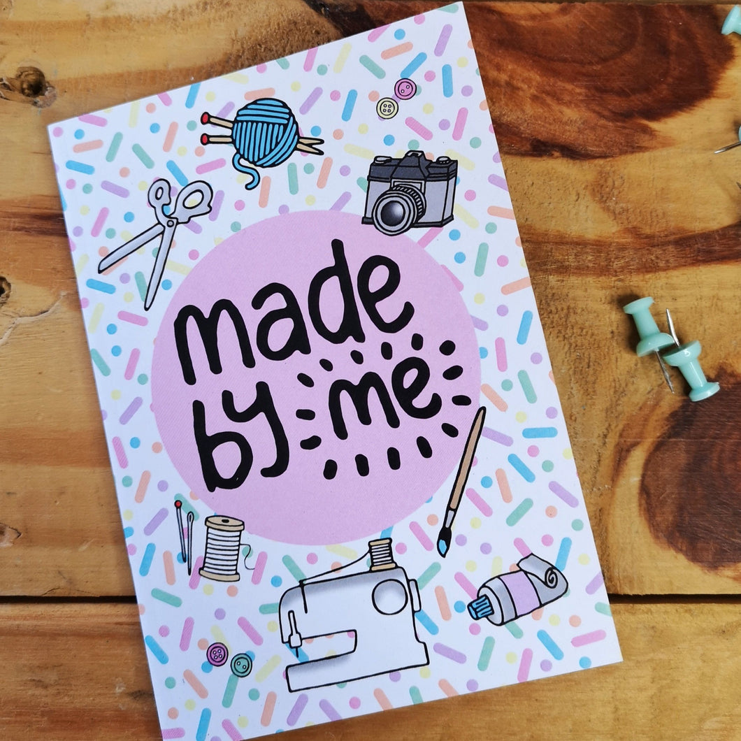 Made by me creators A6 Notebook
