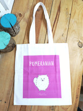 Load image into Gallery viewer, Pomeranian Tote Bag