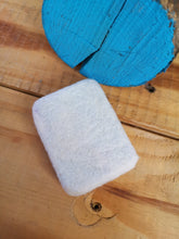 Load image into Gallery viewer, Felted Luxury Goats Milk Soap with a bright floral design