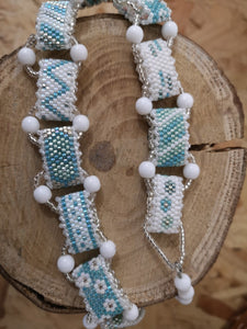 Introduction to Peyote Bead Needle Weaving Wed 11th March 10.30am - 1pm